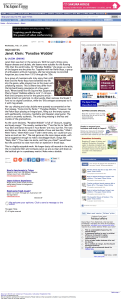 Janet Klein: 'Paradise Wobble' | The Japan Times Online
