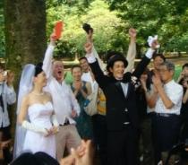 Recession wedding