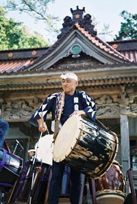 Sado drummer