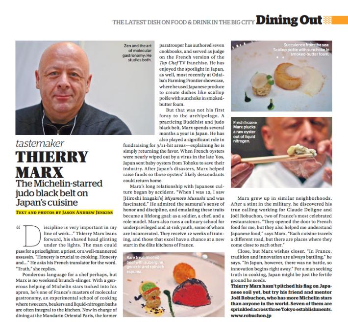Tastemaker: Thierry Marx