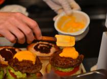E.A.T. sauce burgers