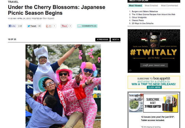 Under the Cherry Blossoms: Japanese Picnic Season Begins